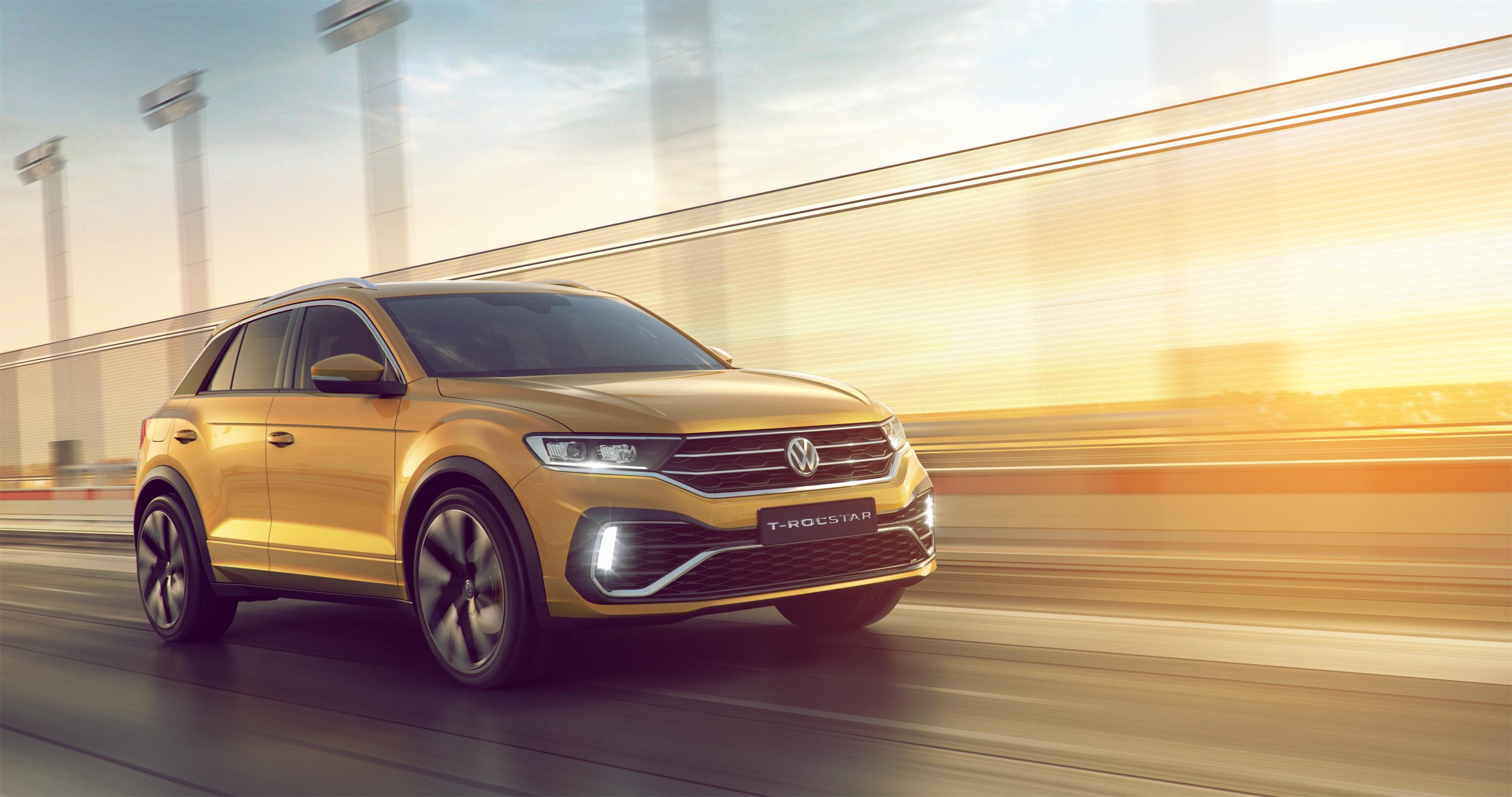 """大众汽车品牌中国ceo冯思翰博士表示:""""t-rocstar展示了大众汽车品牌"""