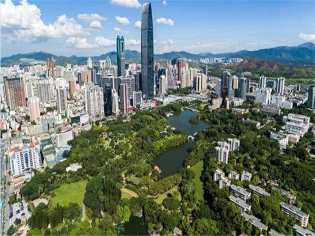 大胆岛标�_知道深圳有多少个公园吗?一天逛一个,逛遍得三年!